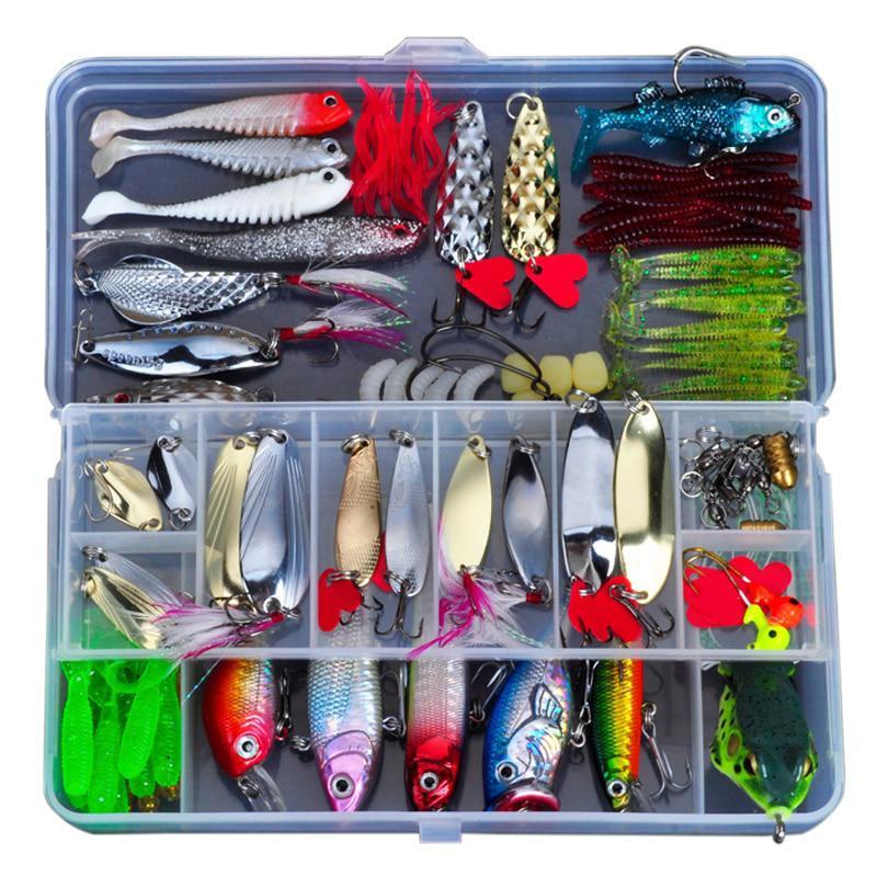 Allblue набор с приманками для рыбалки