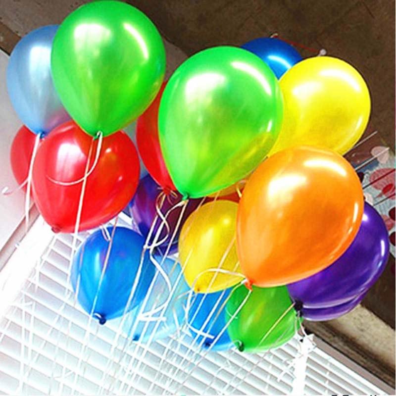 Надувные латексные шарики