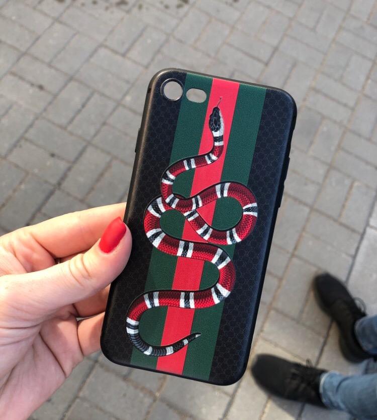 Модный Чехол Gucci на Айфон