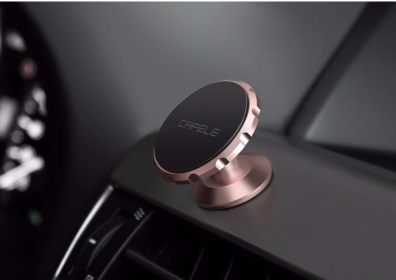 Автомобильный магнитный держатель для телефона.