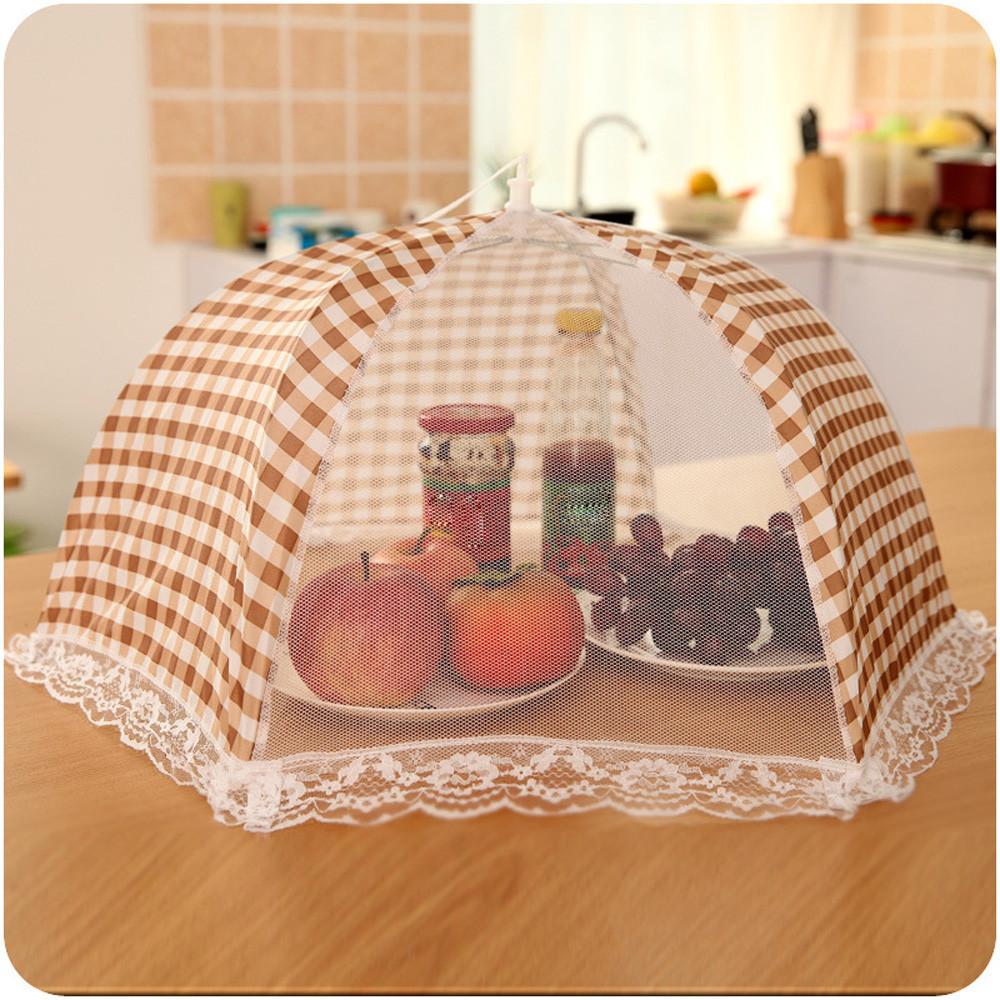 Зонтик для защиты пищевых продуктов.