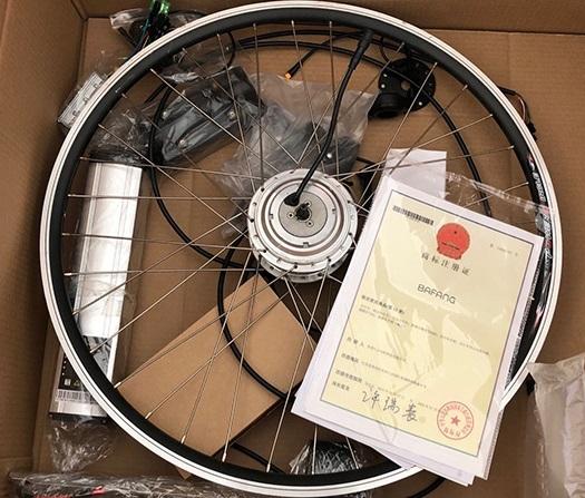 Мотор колесо Электрический велосипед ПОЛНЫЙ комплект