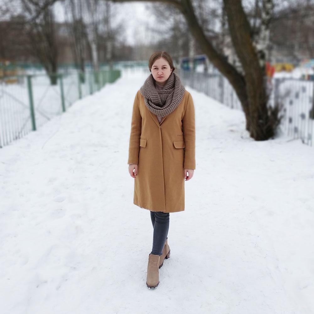 Шерстяное пальто UK Fashion