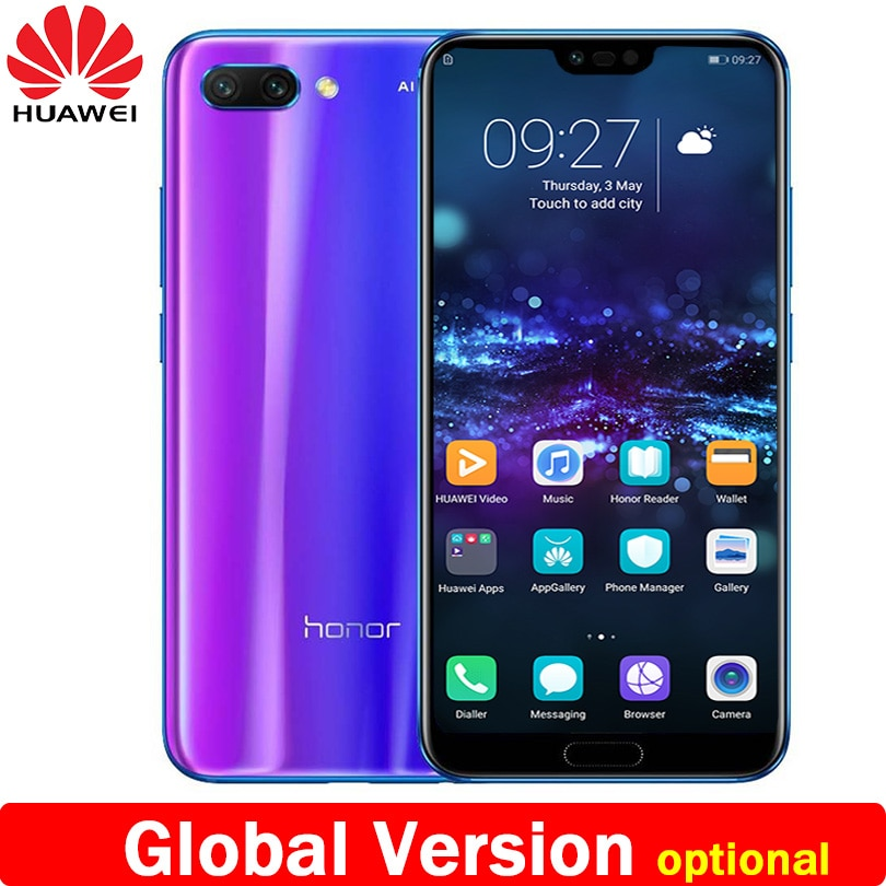Huawei Honor 10 5,84 дюймов 2280x1080 p