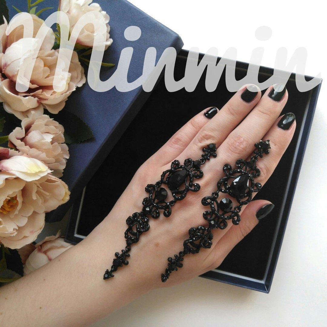 Винтажные длинные серьги от бренда Minmin - отзывы