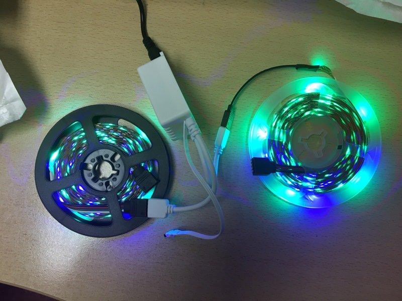 RGB LED strips - price