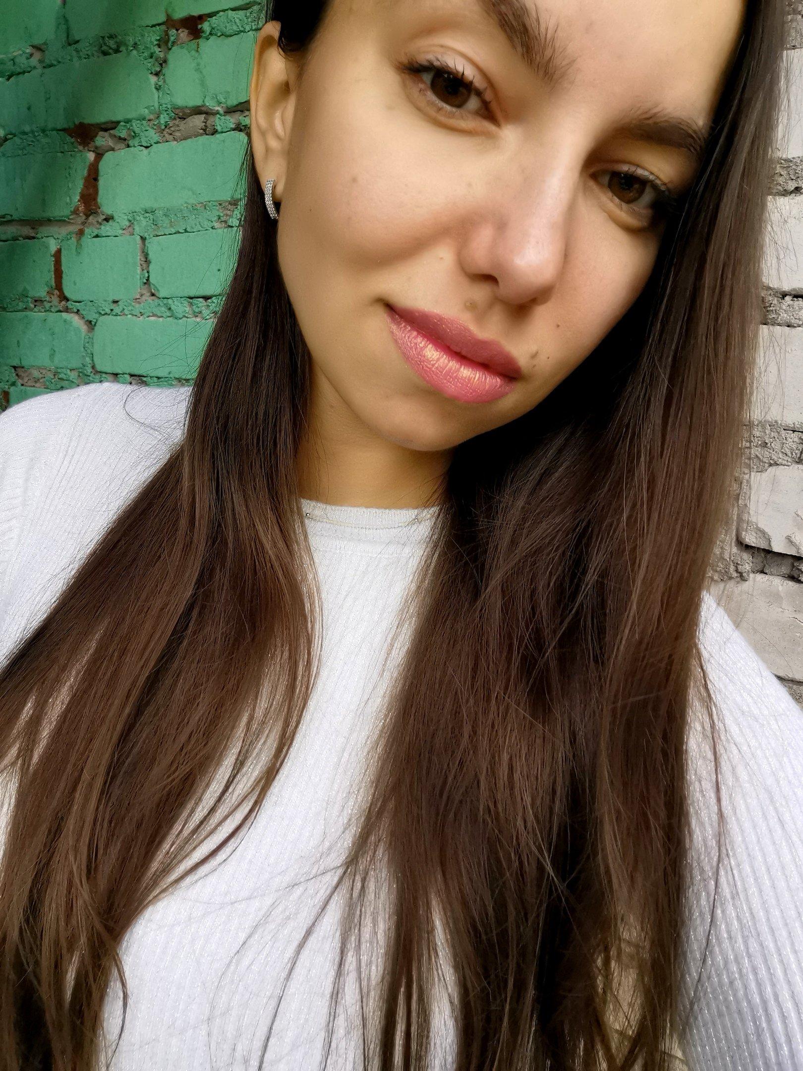 Блестящая губная помада - Макияж