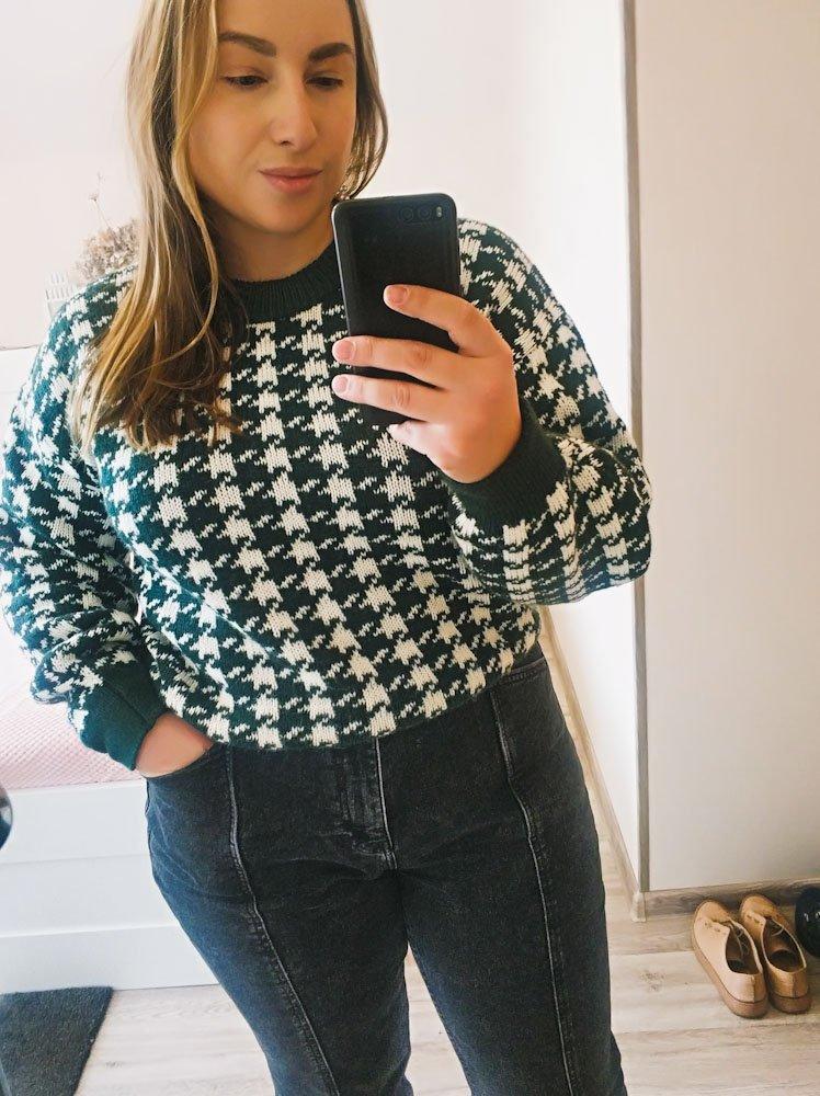 Стильный свитер Sams Tree. Обзор с моими реальными фото. - обзор