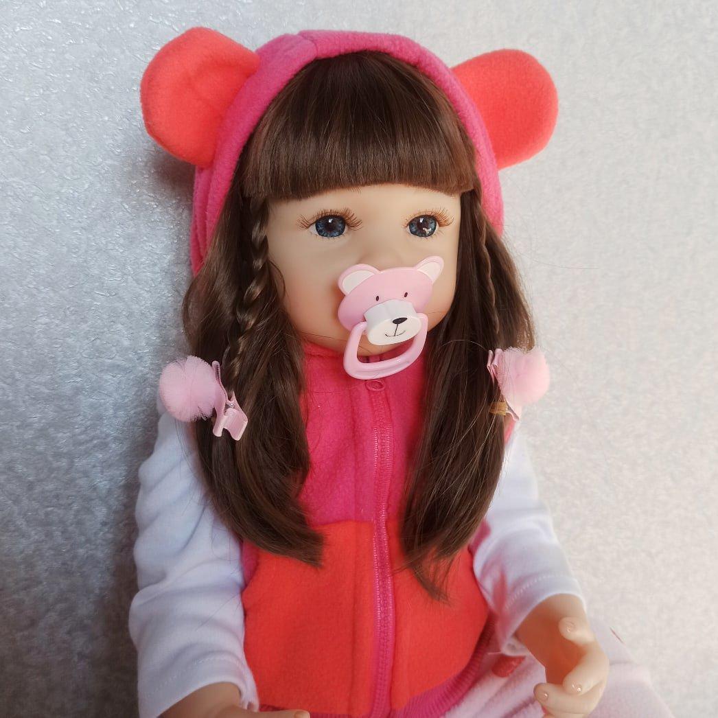 Красивая реалистичная кукла бренда NPK