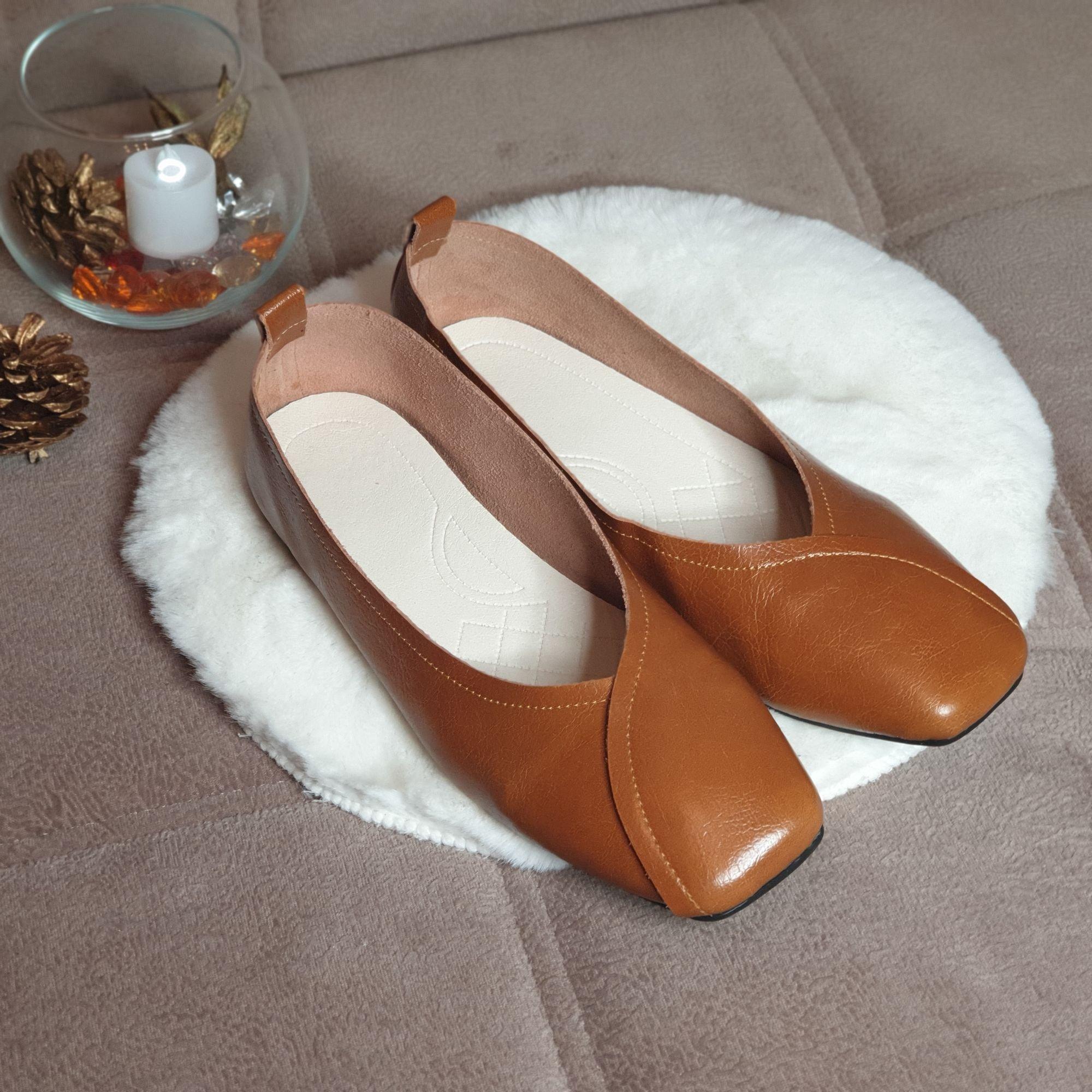 Отличные кожаные туфли на каждый день: распаковка и примерка. - отзывы