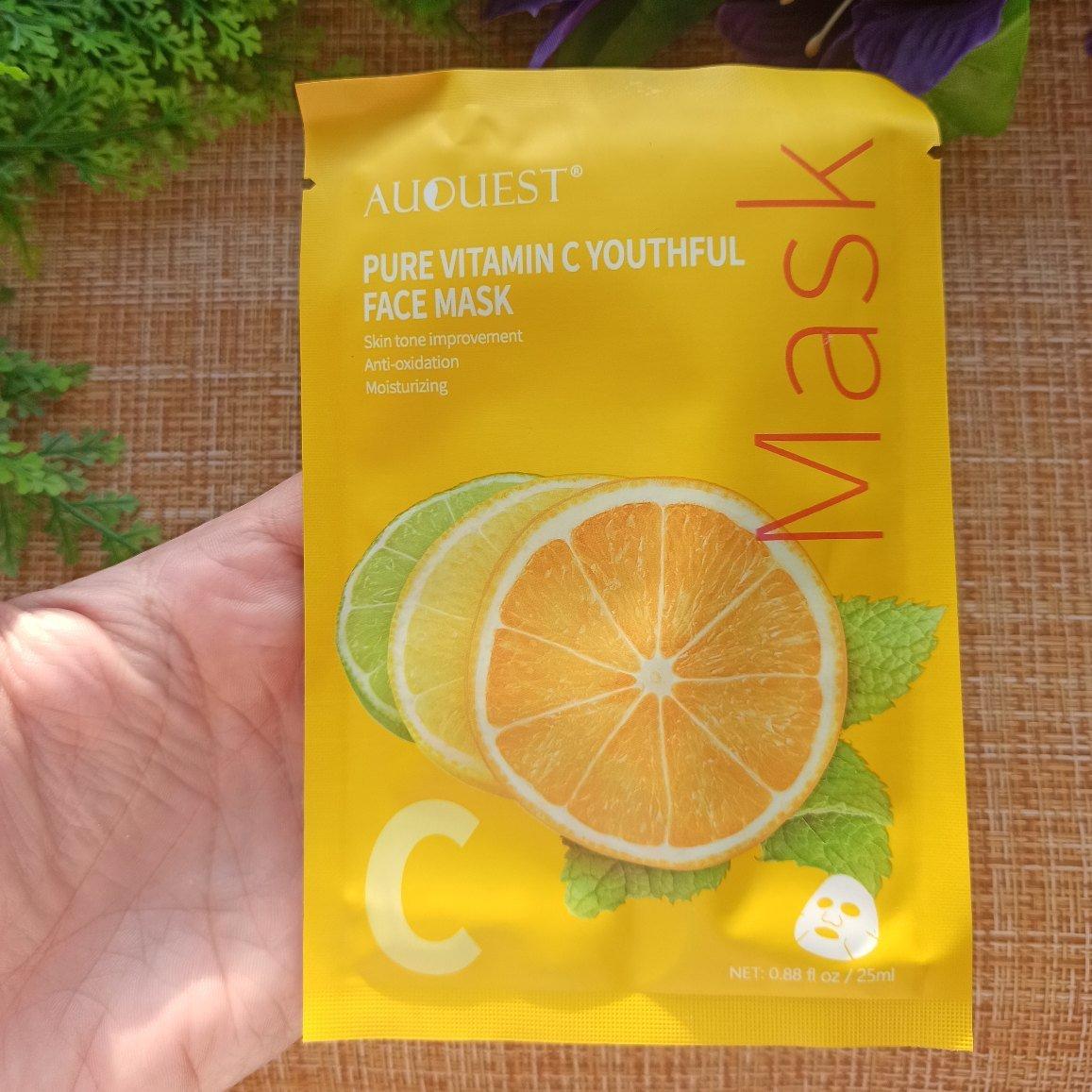 Питательные маски для лица от AuQuest. - отзывы