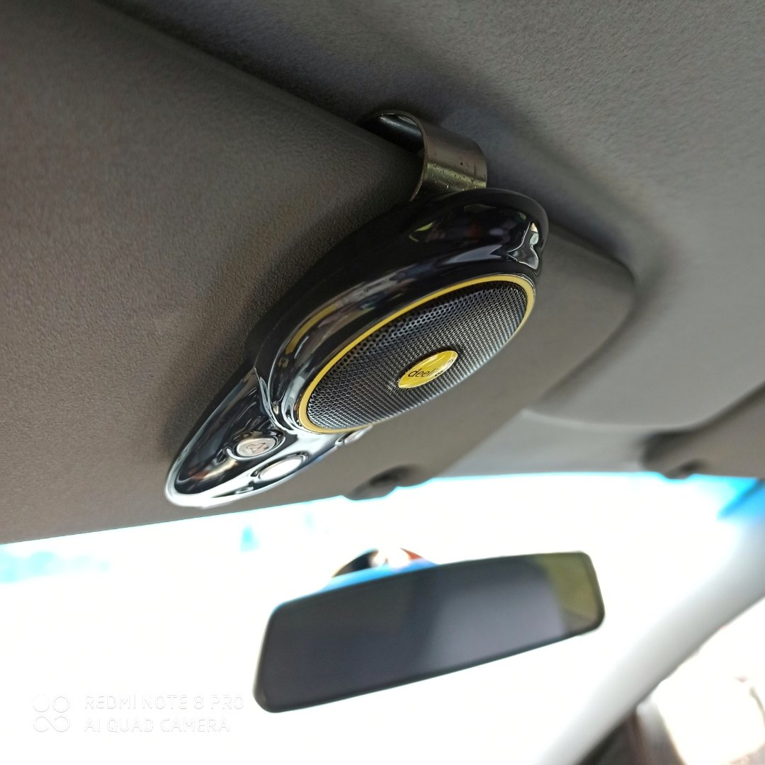 Беспроводная гарнитура в авто от Deelife. - фото