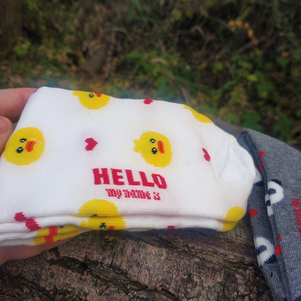 Носки с милыми принтами - обзор