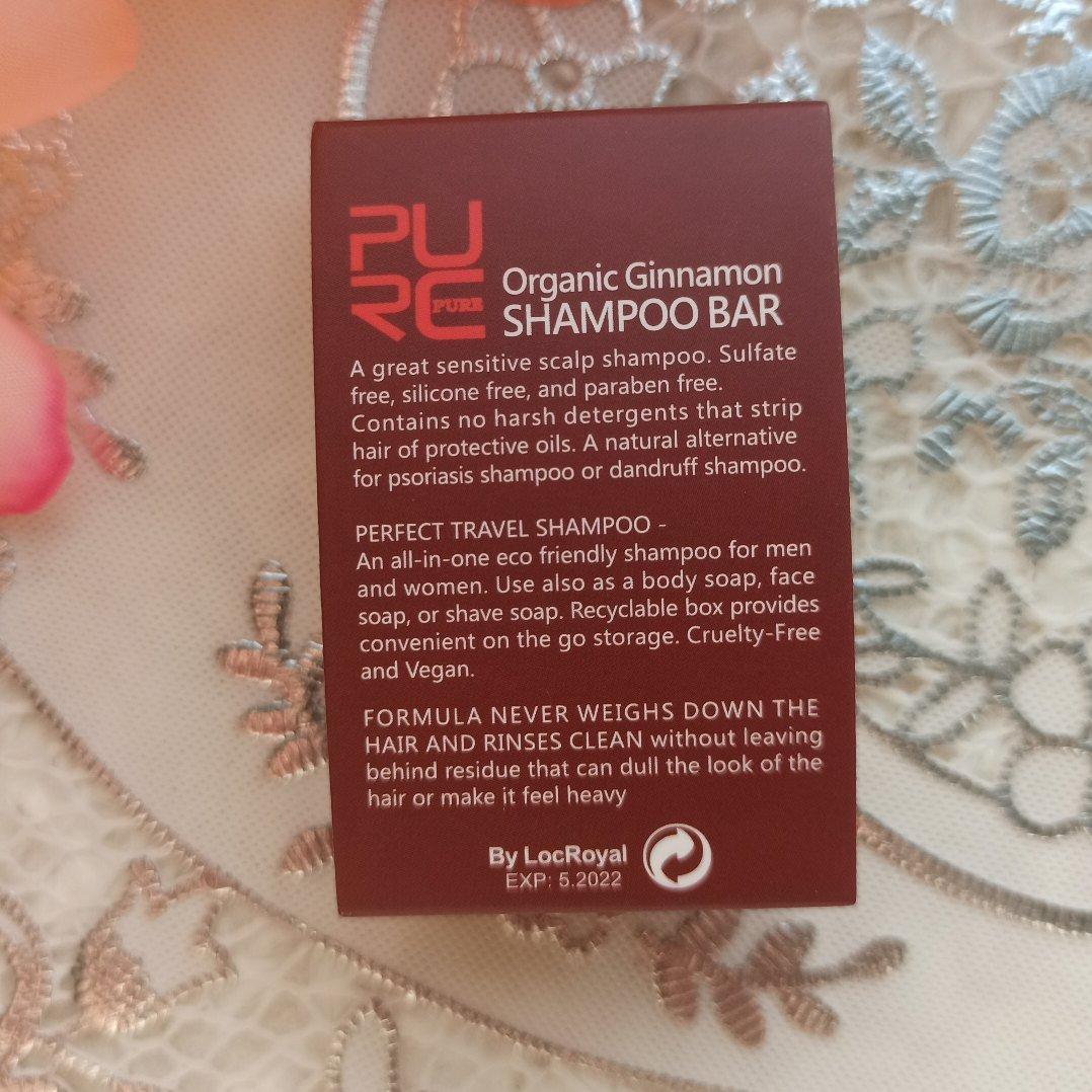 Шампунь с корицей для восстановления волос от PURE - обзор