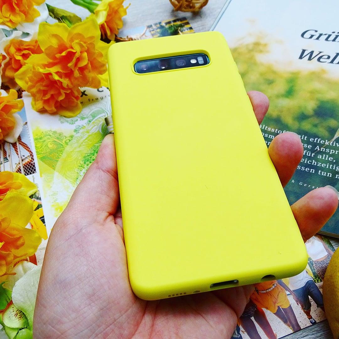 Силиконовый чехол на Samsung цвета солнца - характеристики
