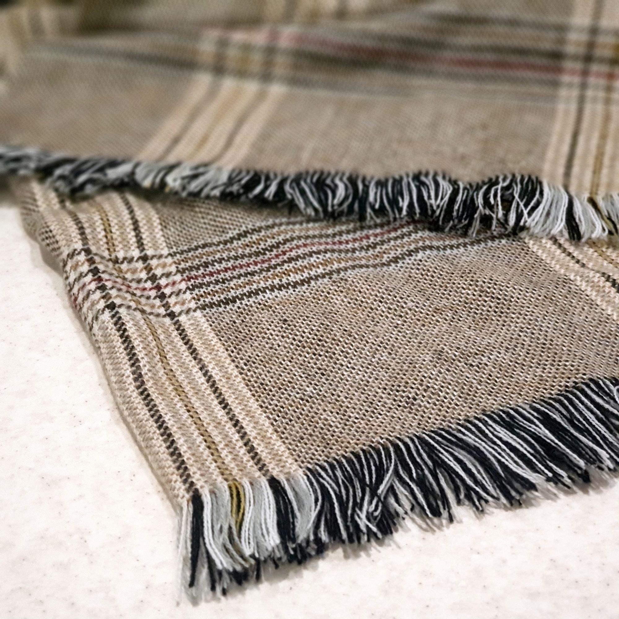 Уютный шарф-плед с классическим рисунком. - Алиэкспресс