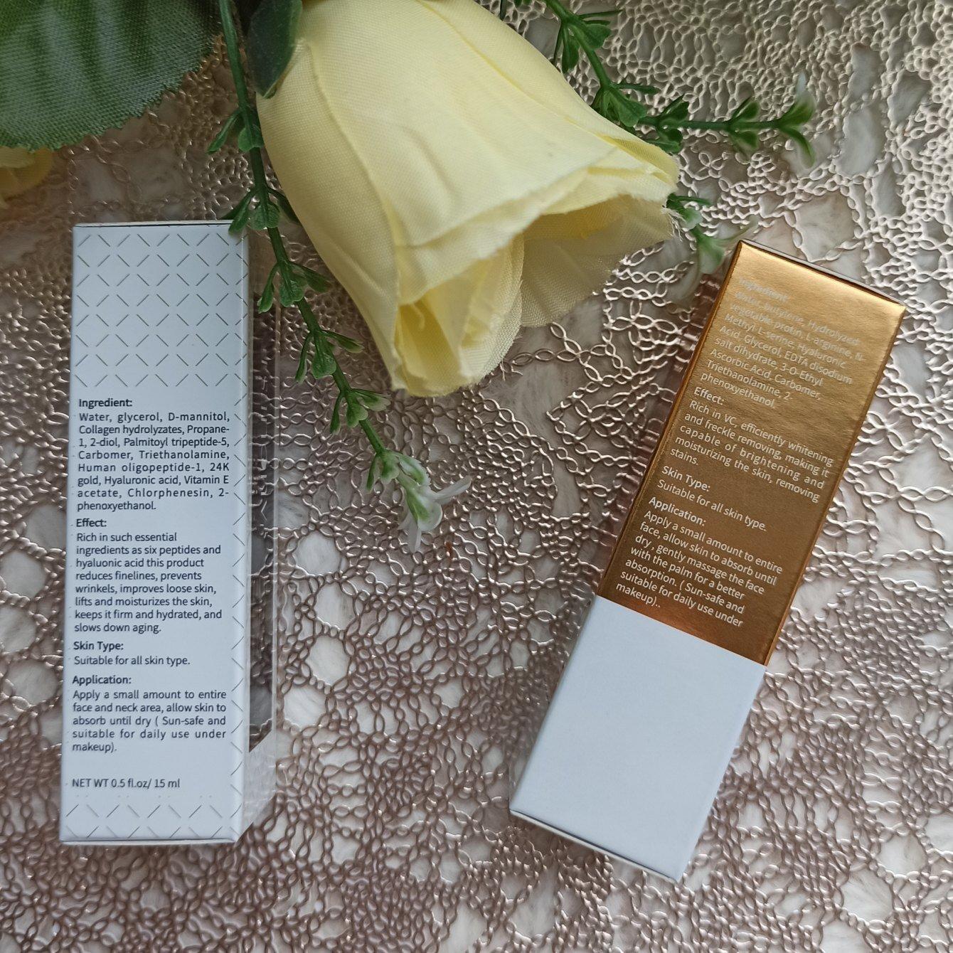 Комплексный уход за кожей лица от AuQuest. Увлажнение  отбеливание. - aliexpress