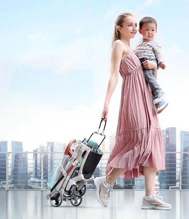 Универсальная детская коляска трансформер с Алиэкспресс. Легкая и компактная. - отзывы