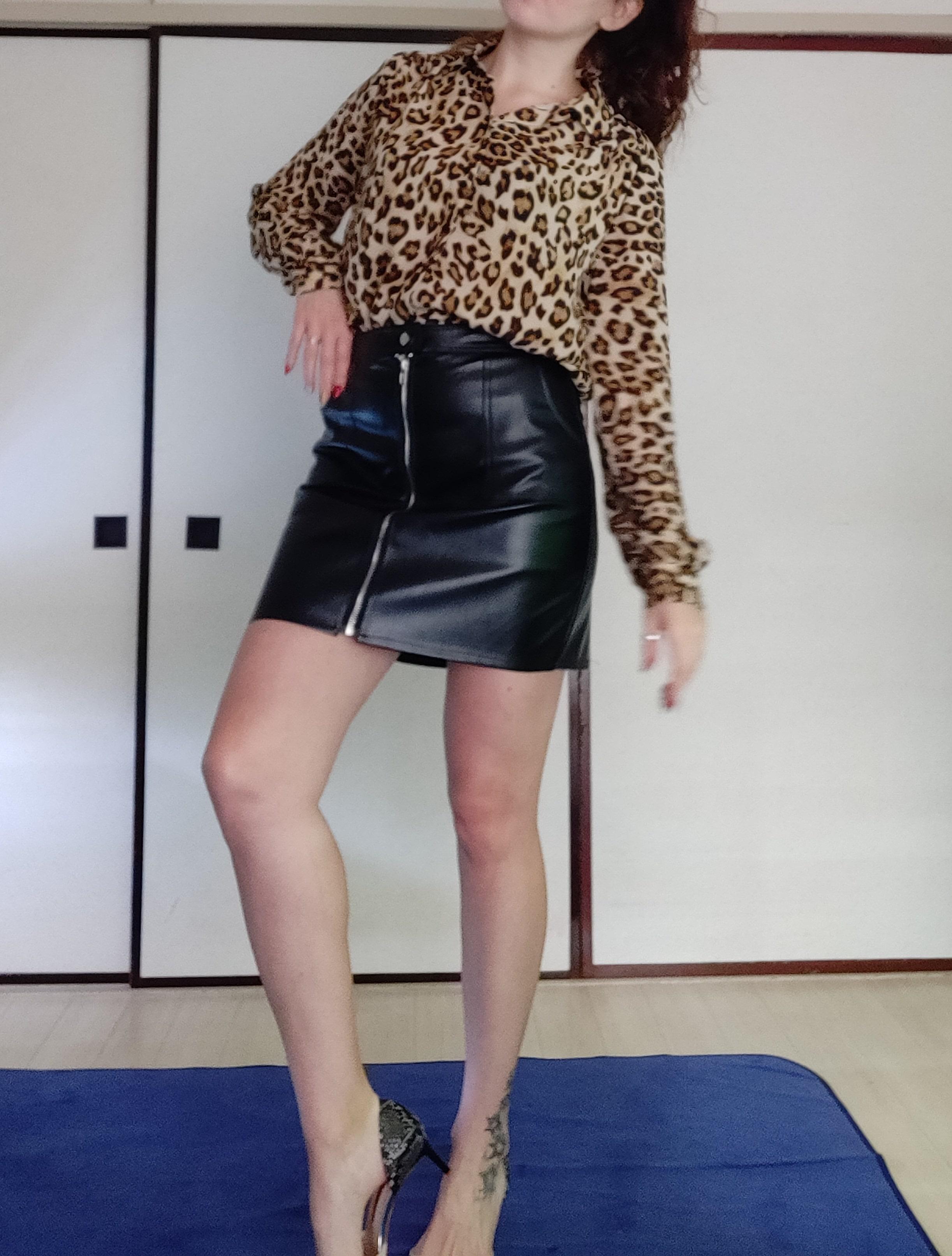 Шикарная юбка из искусственной кожи от N.XINZHE - инструкция
