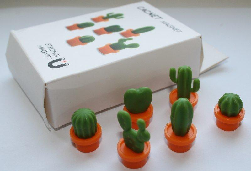 Магниты - кактусы - купить