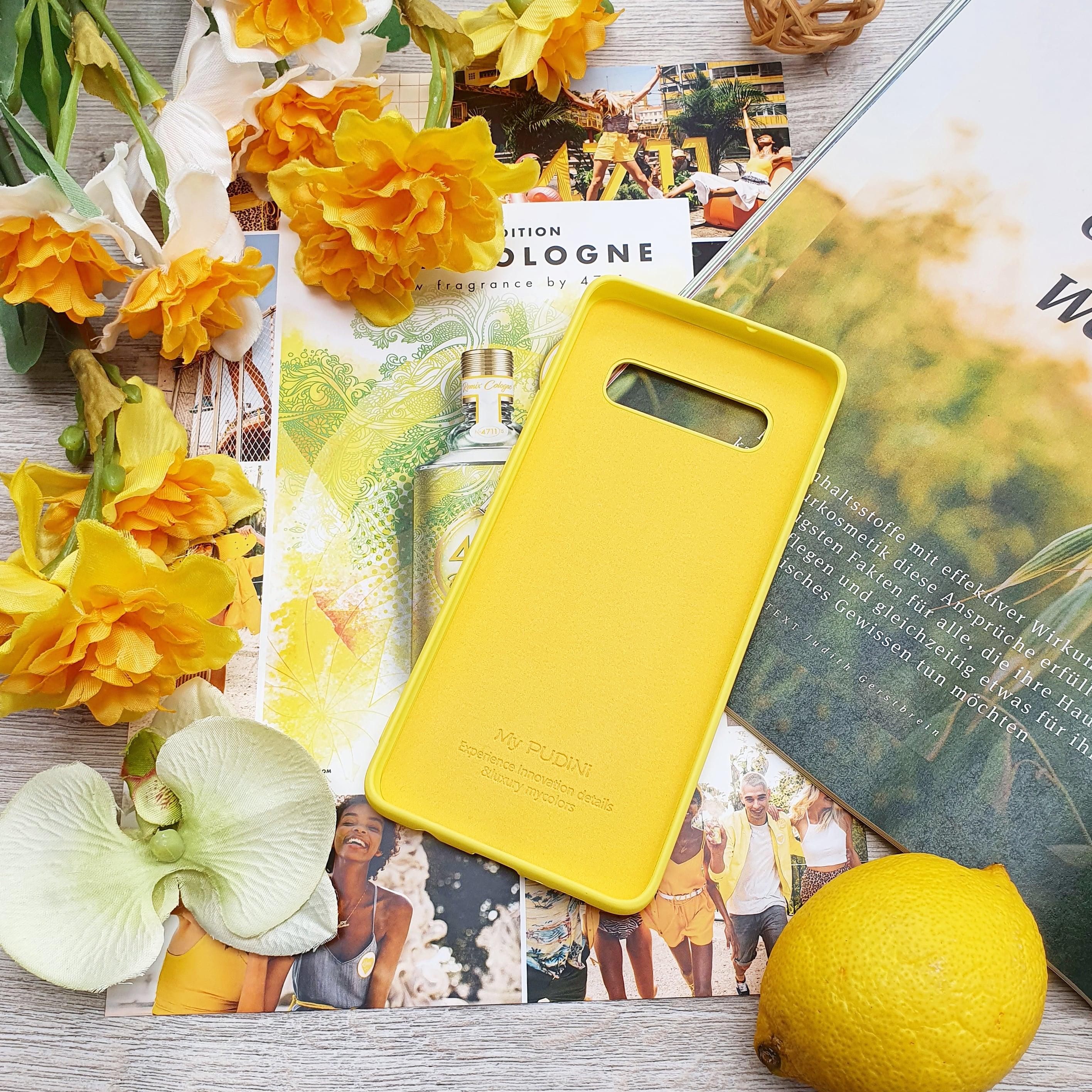 Силиконовый чехол на Samsung цвета солнца - Phone