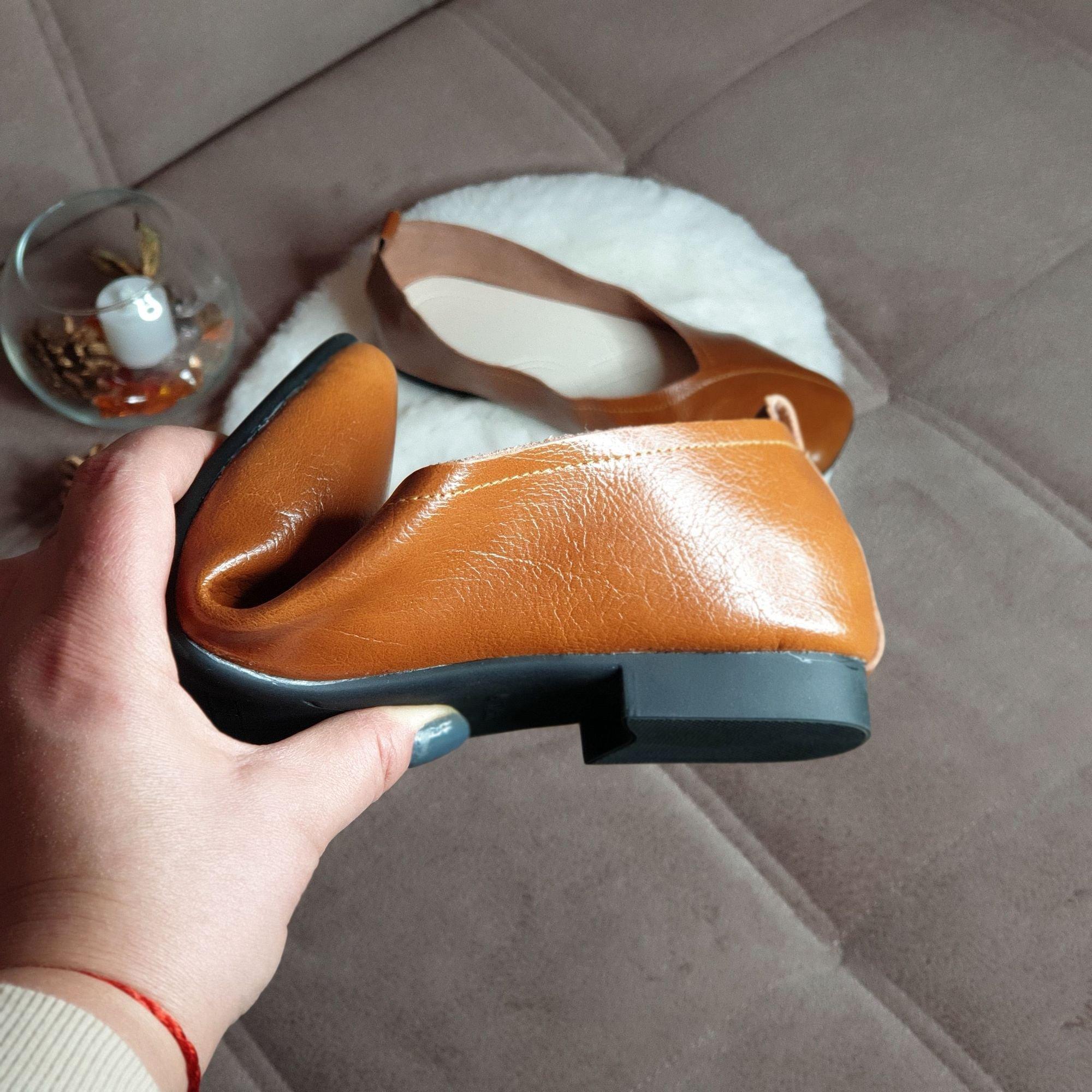 Отличные кожаные туфли на каждый день: распаковка и примерка. - характеристики