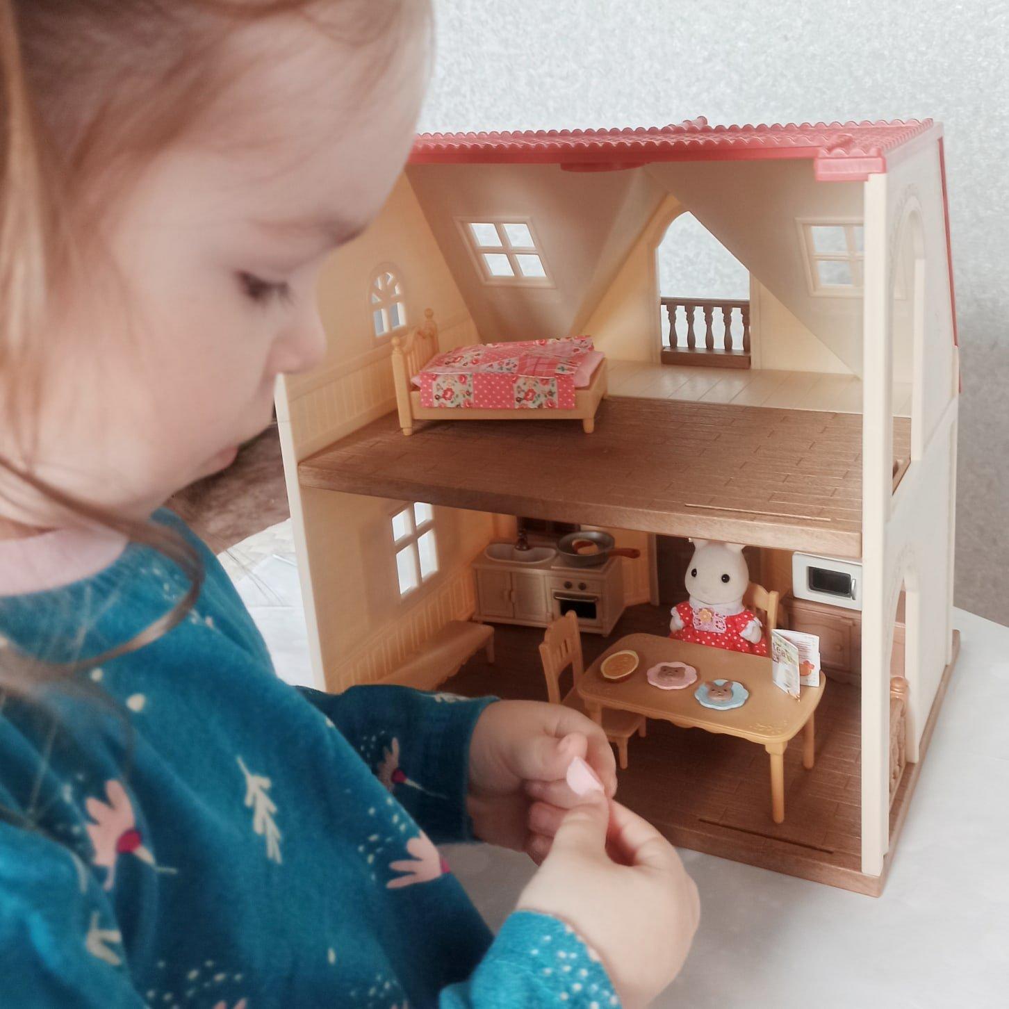 Комплект принадлежностей для кухни и мебели для игрового набора Sylvanian Families. - Алиэкспресс
