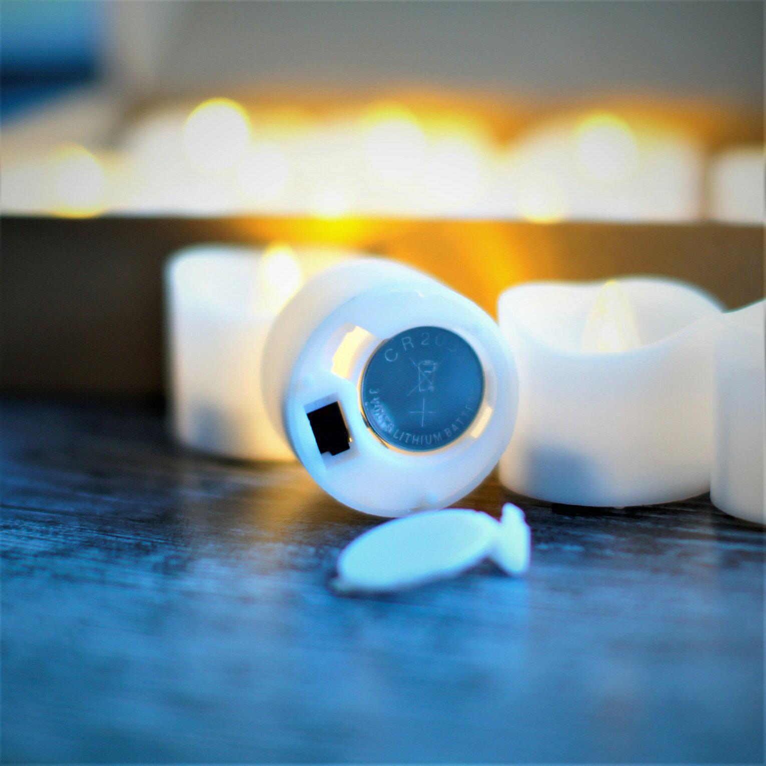 Светодиодные свечи на батарейках - CR 2032 - цена