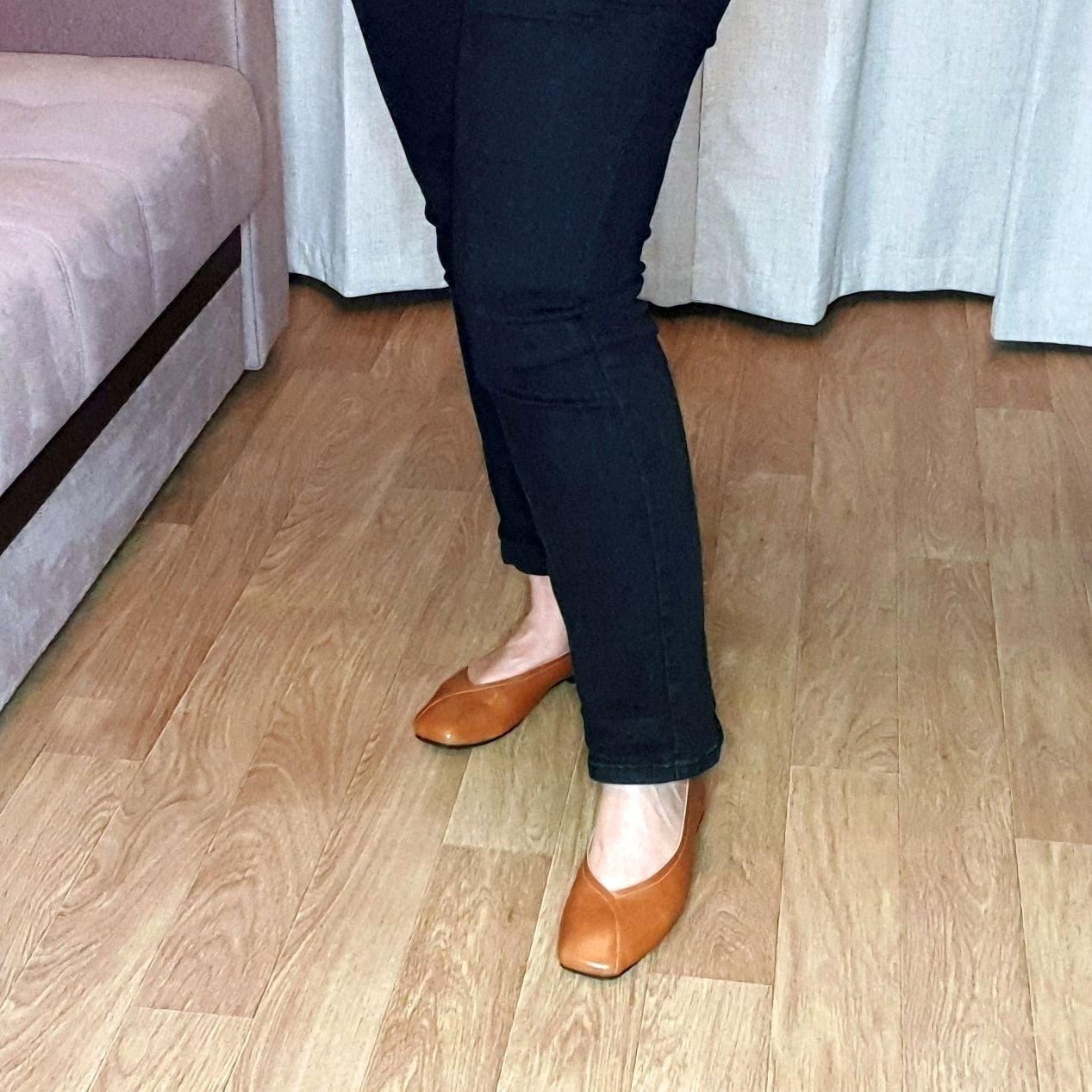 Отличные кожаные туфли на каждый день: распаковка и примерка. - инструкция