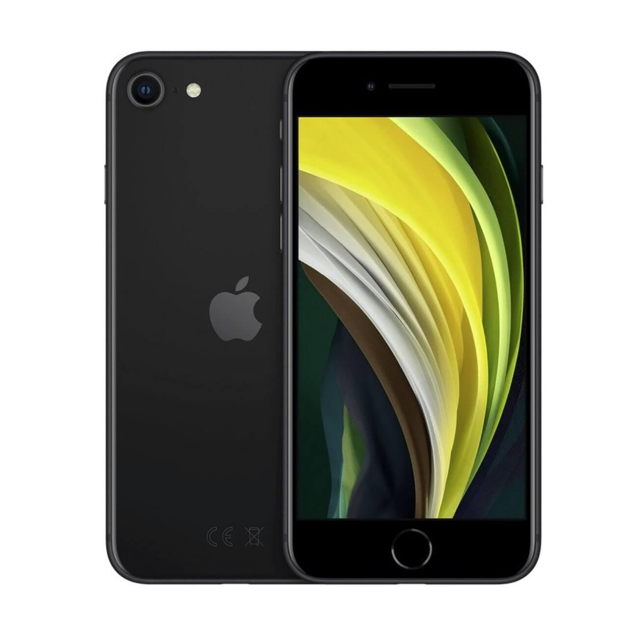 Быстрый, компактный, мощный: Apple iPhone SE 2020 128GB Black - цена