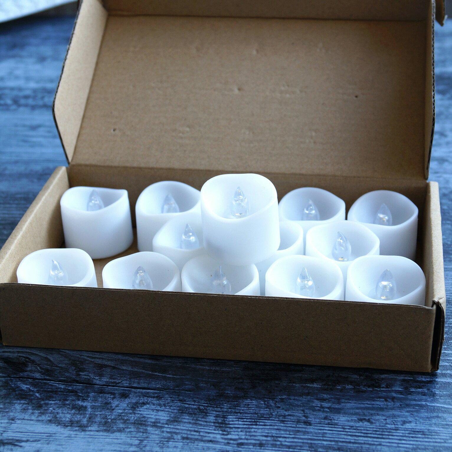 Светодиодные свечи на батарейках - CR 2032 - отзывы