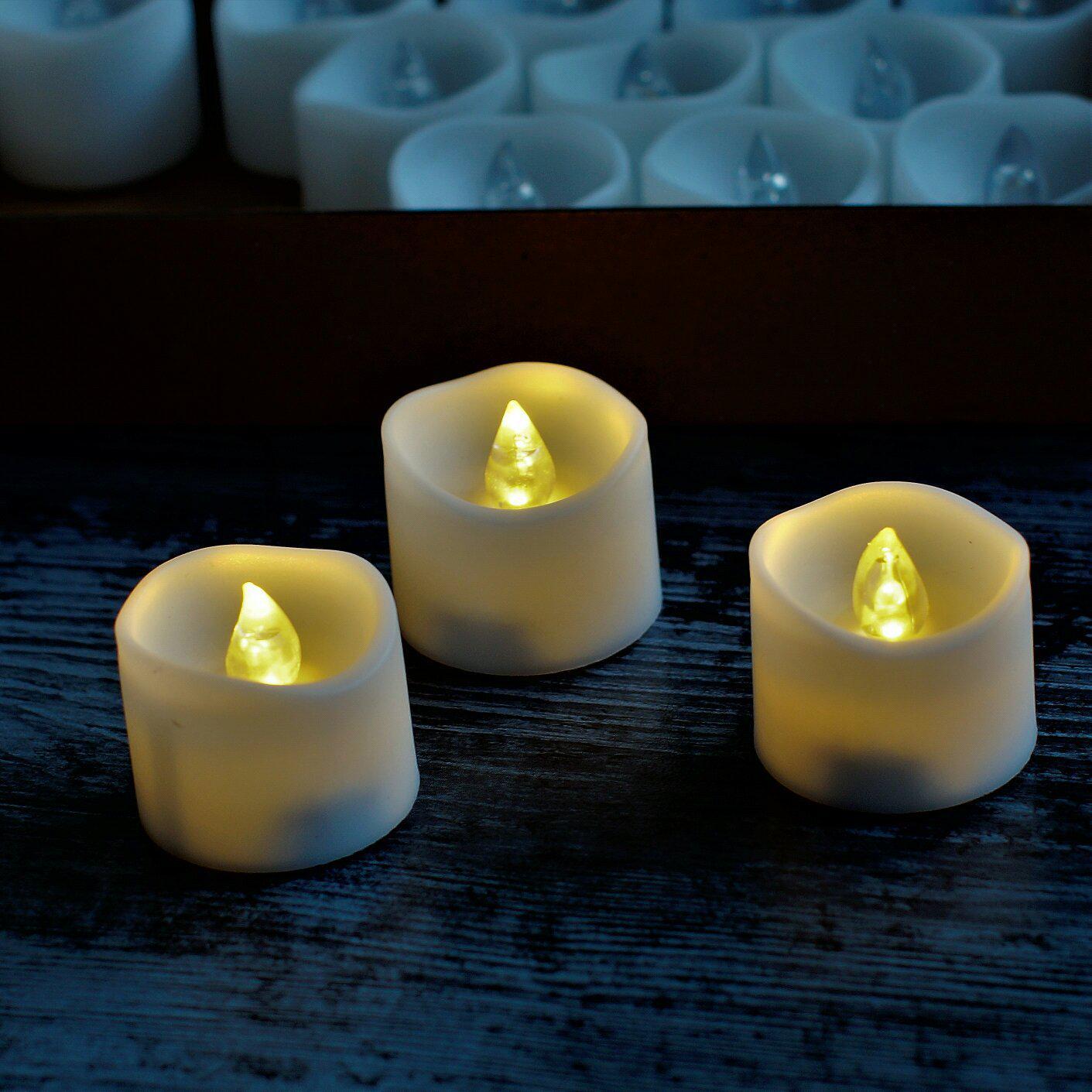 Светодиодные свечи на батарейках - CR 2032 - обзор