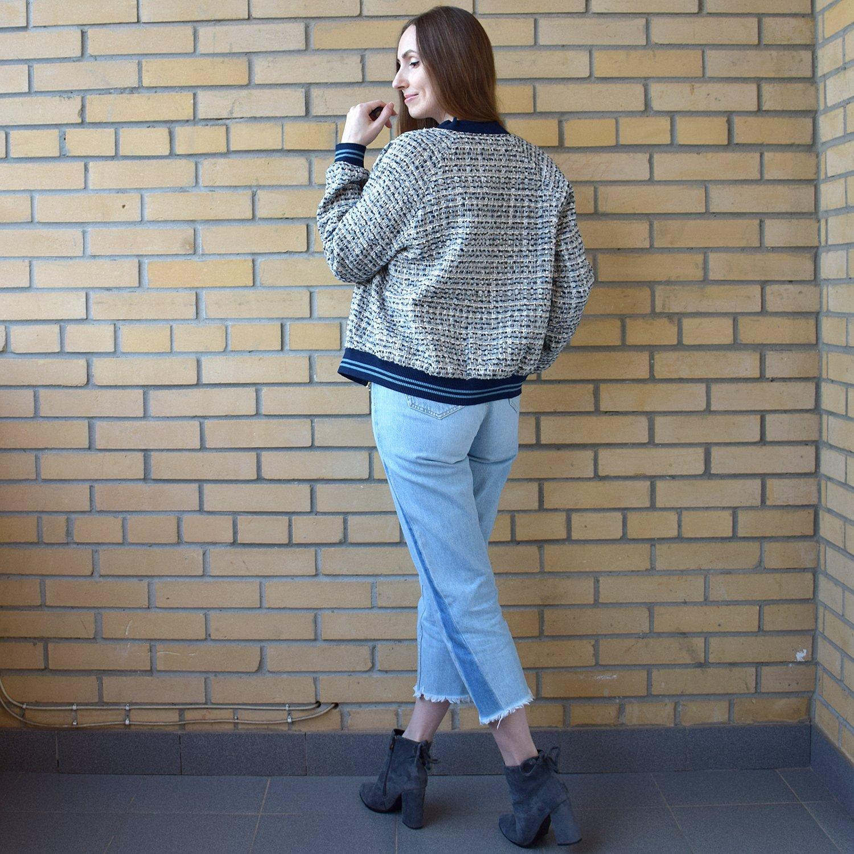 Куртка бомбер с Алиэкспресс - фото