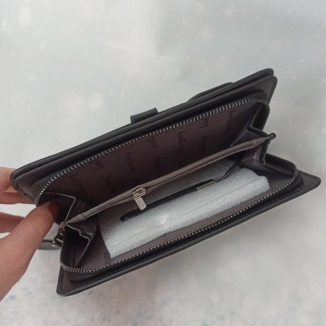 Практичный и вместительный кошелёк Baellerry - инструкция