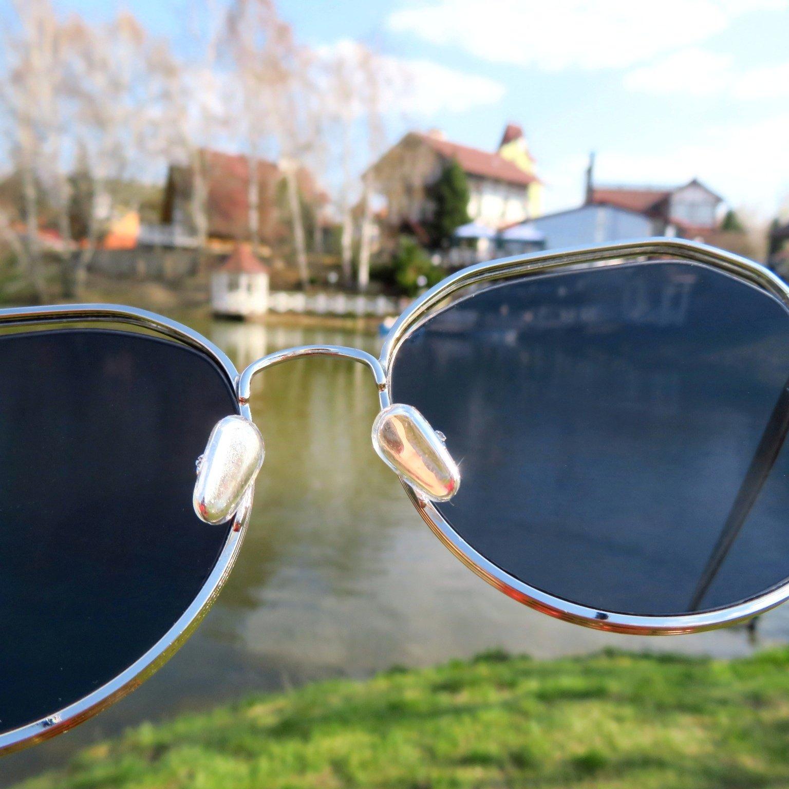 Классные солнцезащитные очки с защитой UV400 - цена