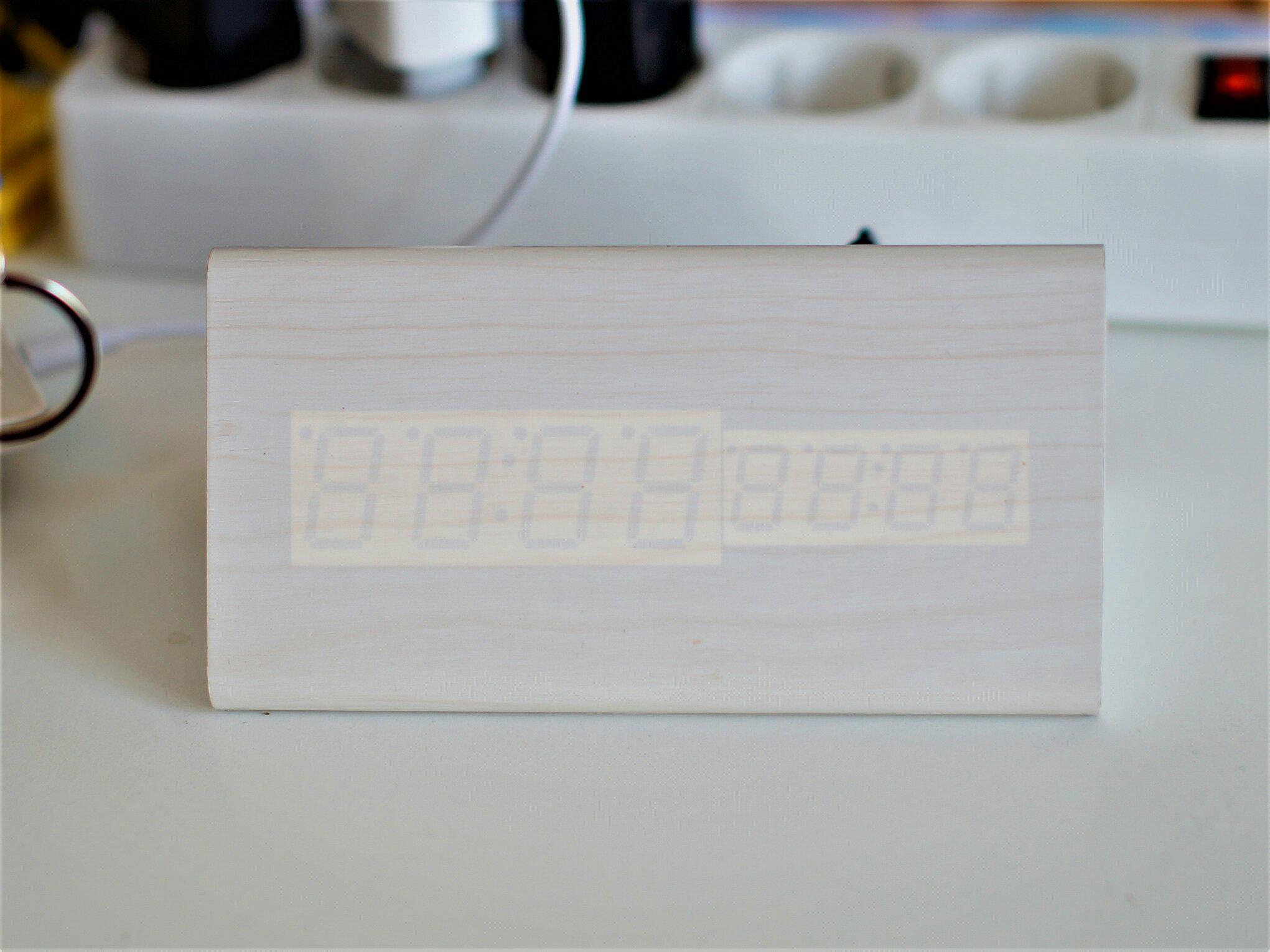 Светодиодные часы - отзывы