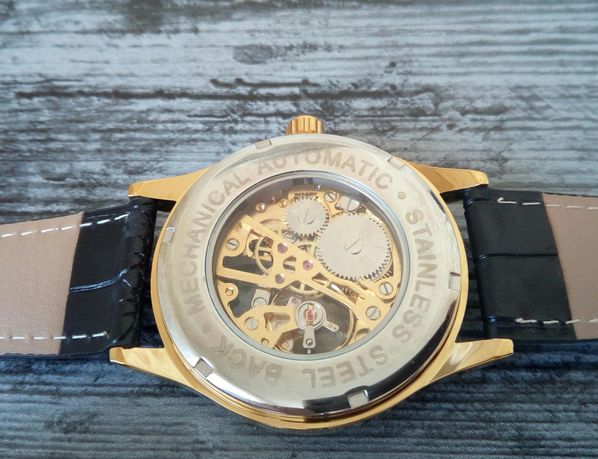 Крутые часы скелеты Winner - характеристики