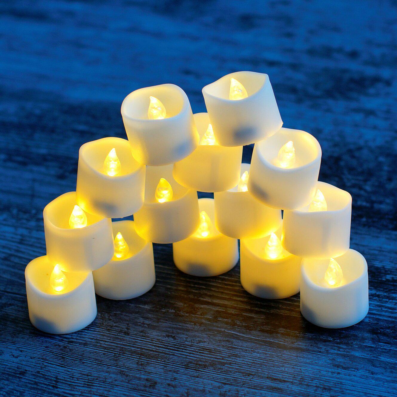 Светодиодные свечи на батарейках - CR 2032 - характеристики