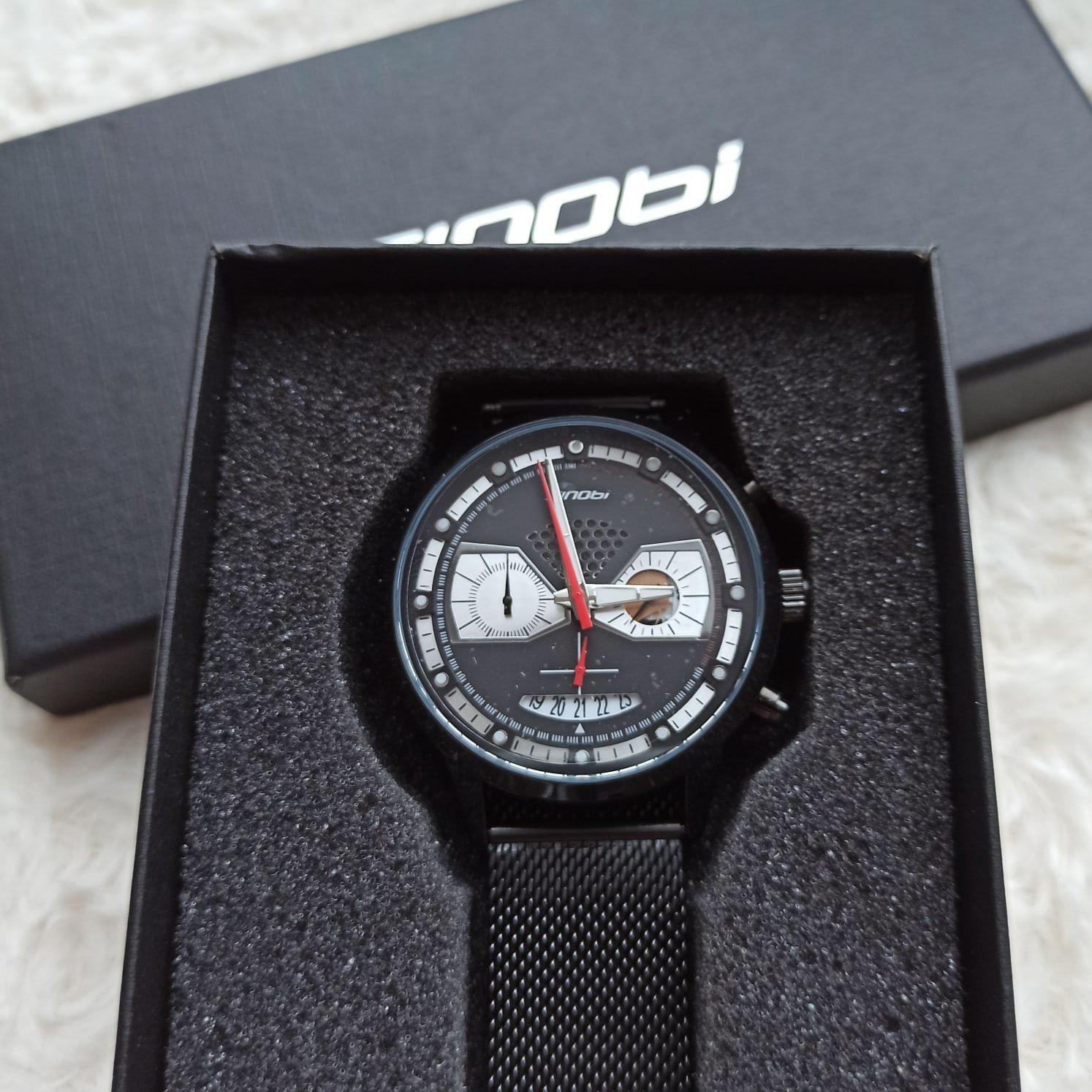 Классные мужские часы от SINOBI - инструкция