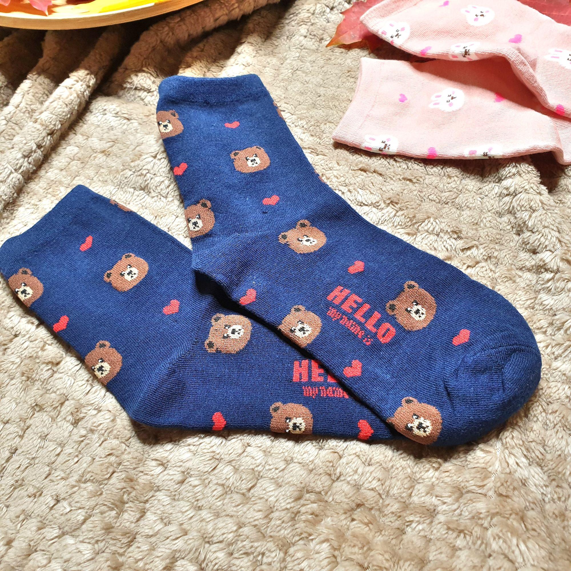 Забавные мягкие, эластичные и очень удобные носки - рекомендую
