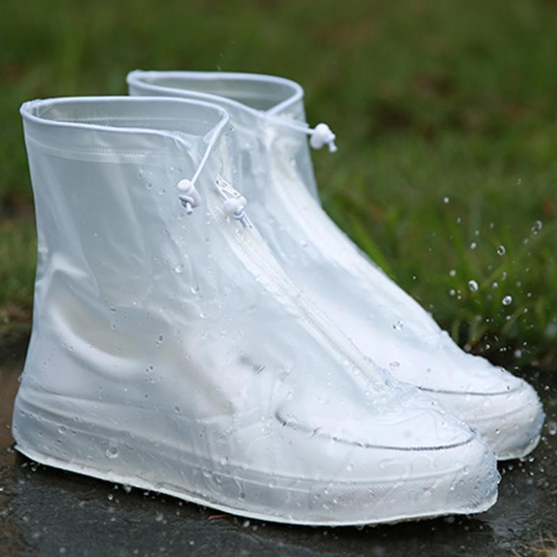 """""""Дождевики для обуви"""". Непромокаемые водонепроницаемые ботинки с закрытой пяткой."""