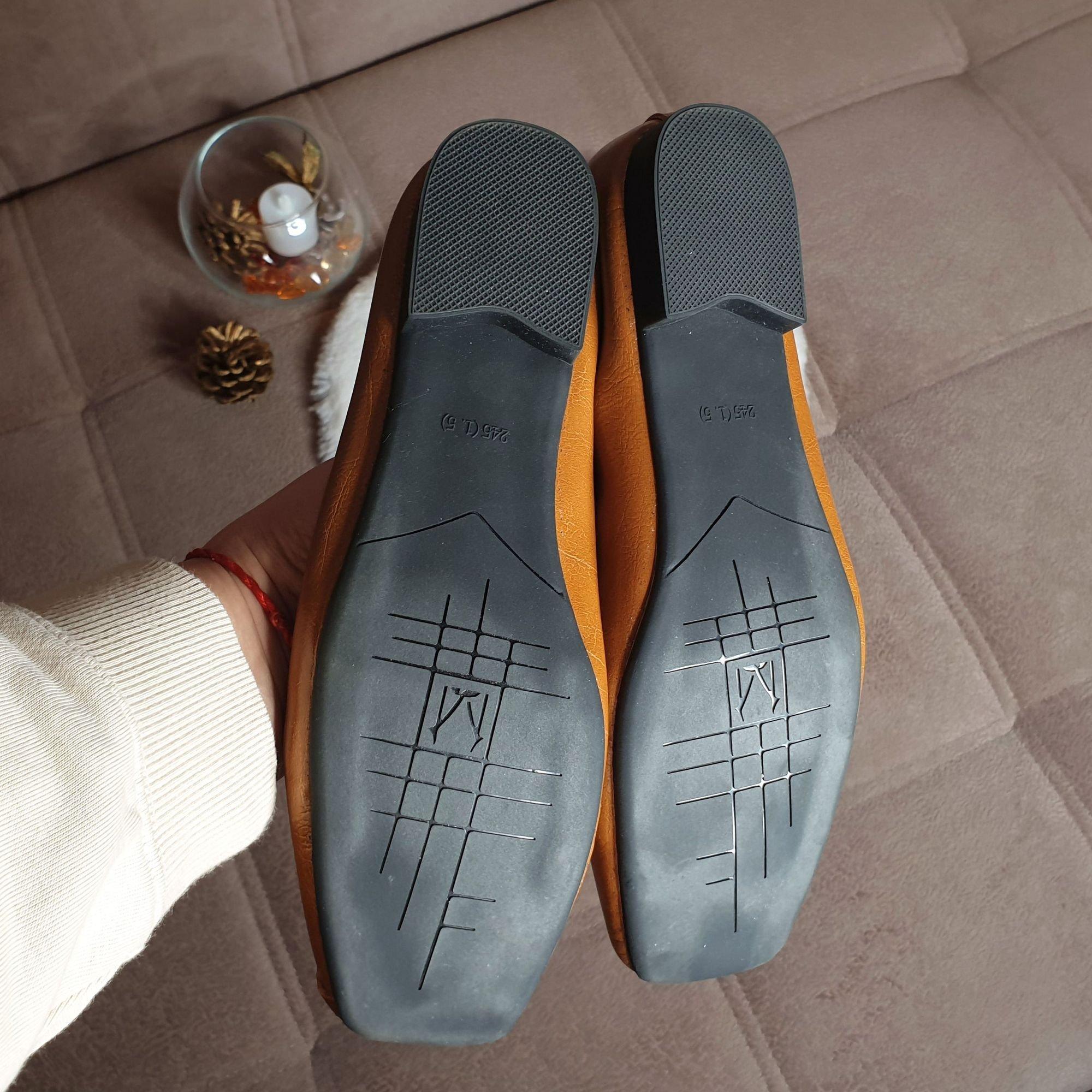 Отличные кожаные туфли на каждый день: распаковка и примерка. - фото