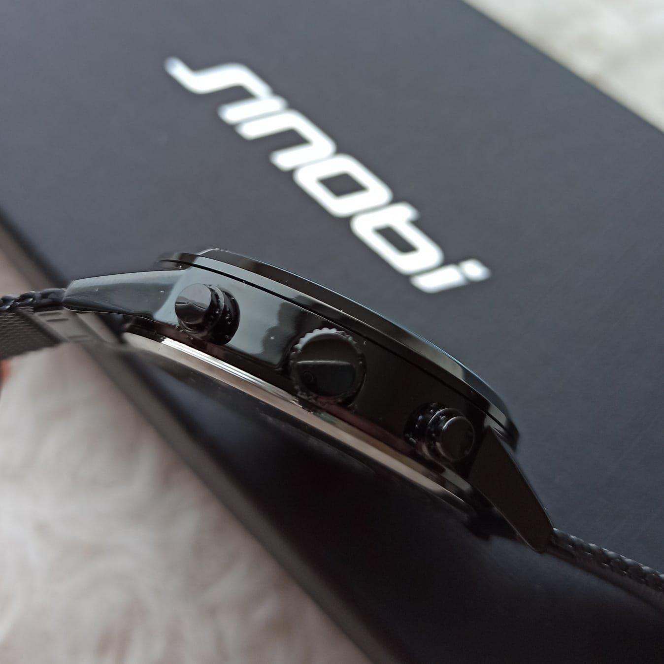Классные мужские часы от SINOBI - aliexpress