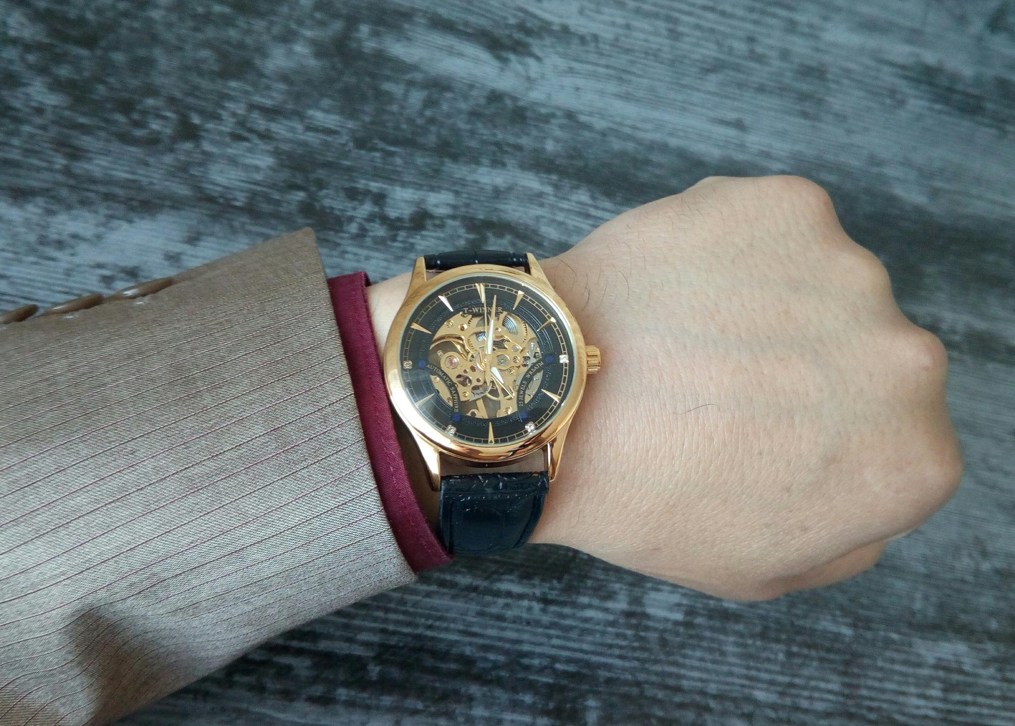 Крутые часы скелеты Winner - отзывы