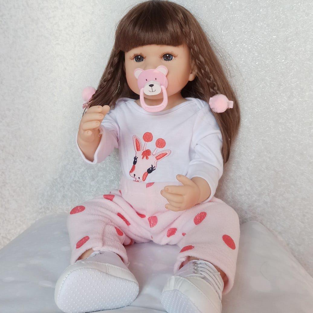 Красивая реалистичная кукла бренда NPK - купить