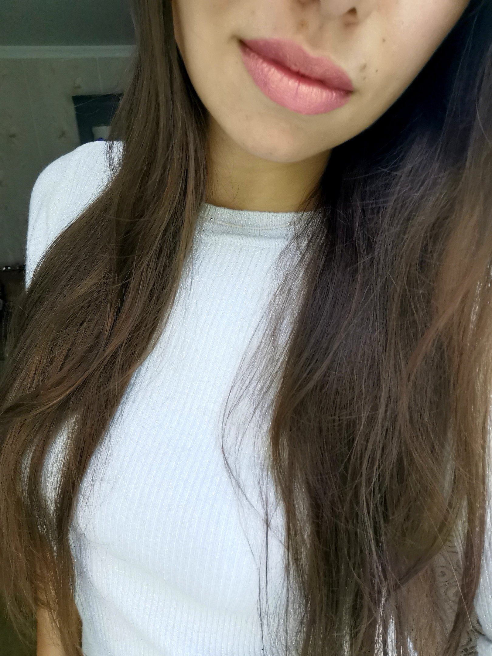 Блестящая губная помада - makeup