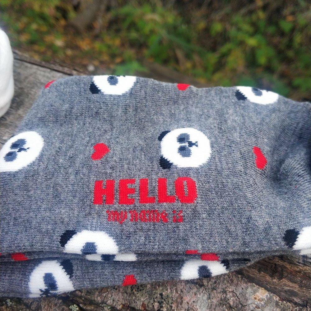 Носки с милыми принтами - цена