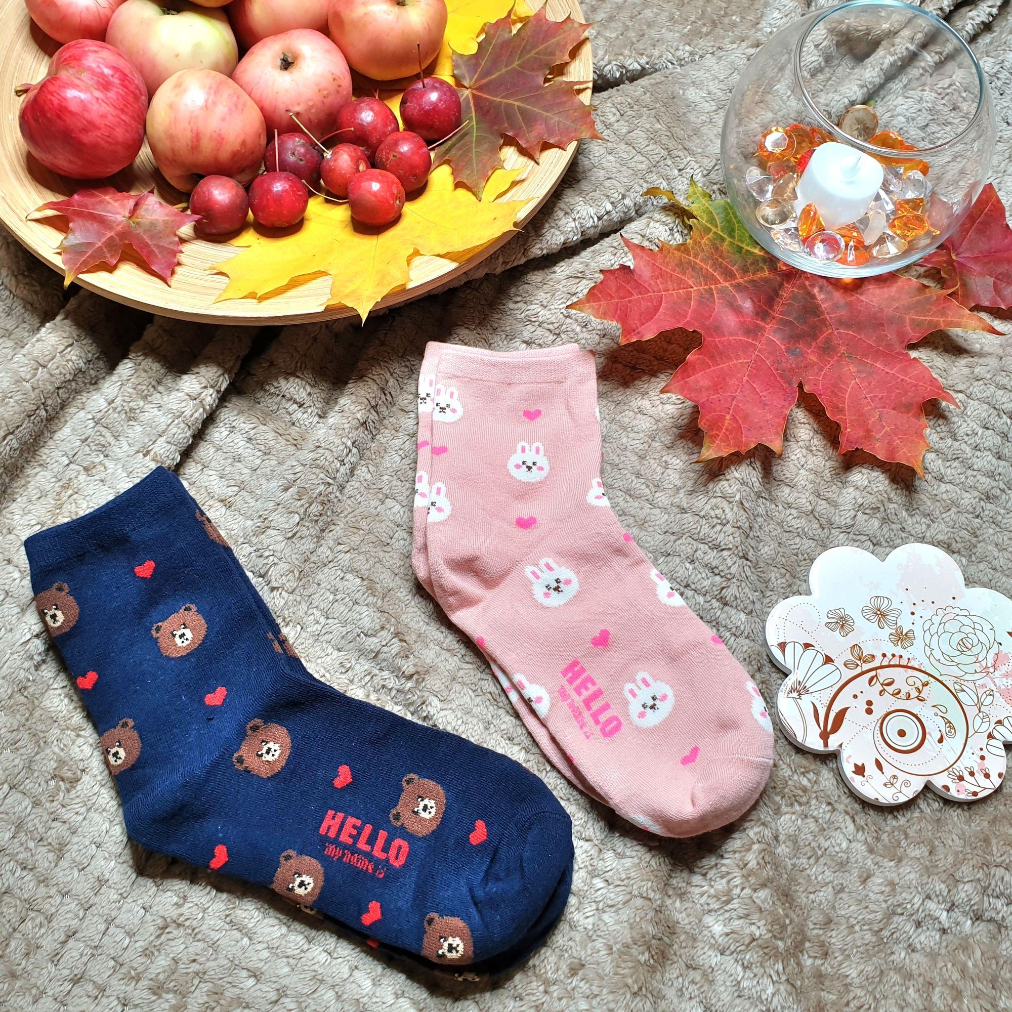 Забавные мягкие, эластичные и очень удобные носки - отзывы