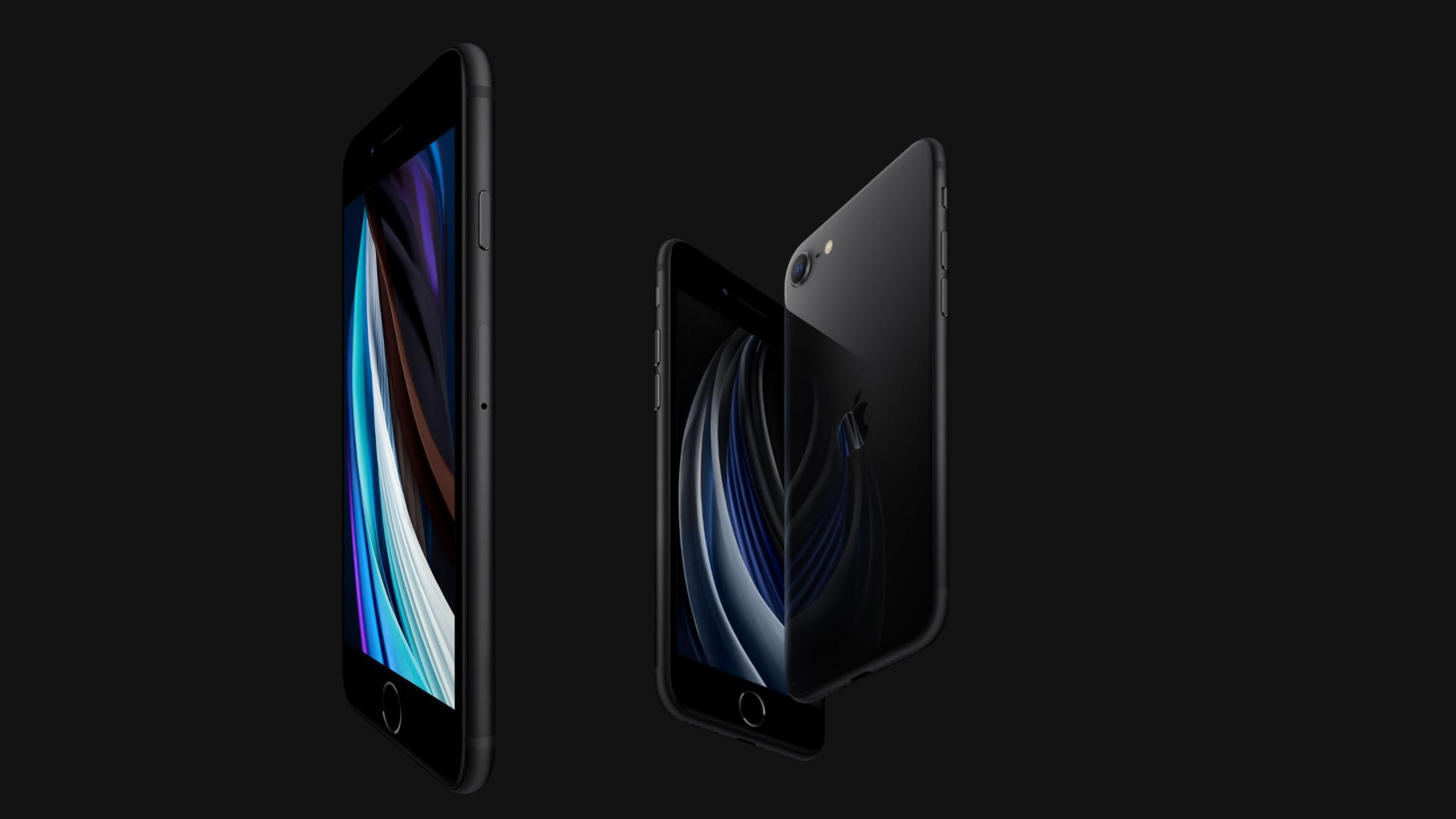 Быстрый, компактный, мощный: Apple iPhone SE 2020 128GB Black - купить