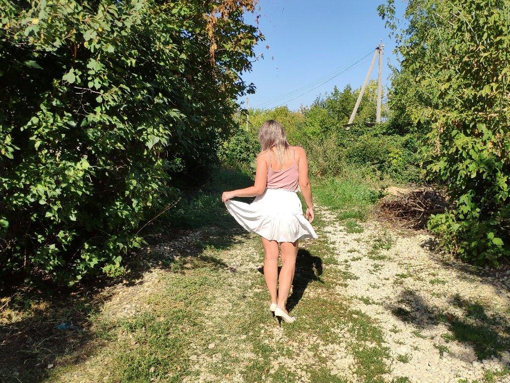 Летняя воздушная юбка AOEMQ - купить